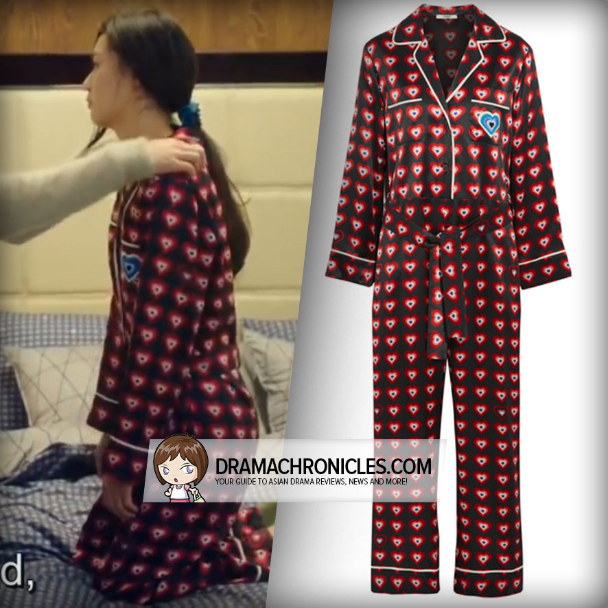 Jun Ji Hyun wearing Fendi's Jumpsuit.