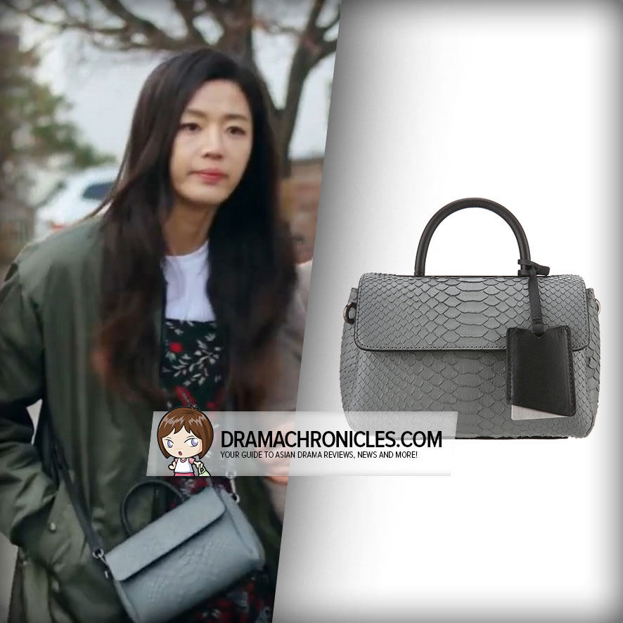 Jun Ji Hyun wearing rouge&lounge UNO Bag.