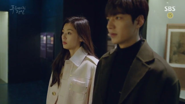 "Jun Ji Hyun in ""The Legend of the Blue Sea"" episode 15 c/o SBS"