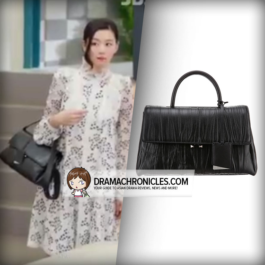 Jun Ji Hyun wearing rouge&lounge UNO Medium Bag.