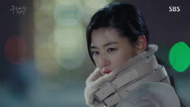 "Jun Ji Hyun c/o SBS ""The Legend of the Blue Sea"" Ep 16"