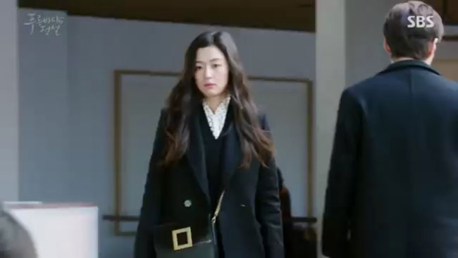 "Jun Ji Hyun in ""The Legend of the Blue Sea"" episode 18 c/o SBS"