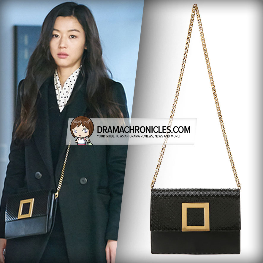 Jun Ji Hyun wearing rouge&lounge VIVI Small Bag.