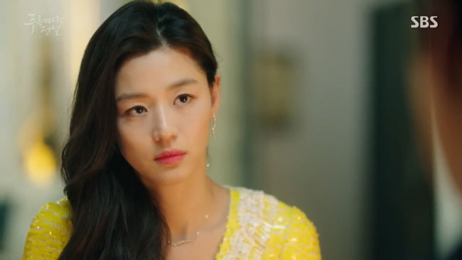 "Jun Ji Hyun in ""The Legend of the Blue Sea"" episode 19 c/o SBS"