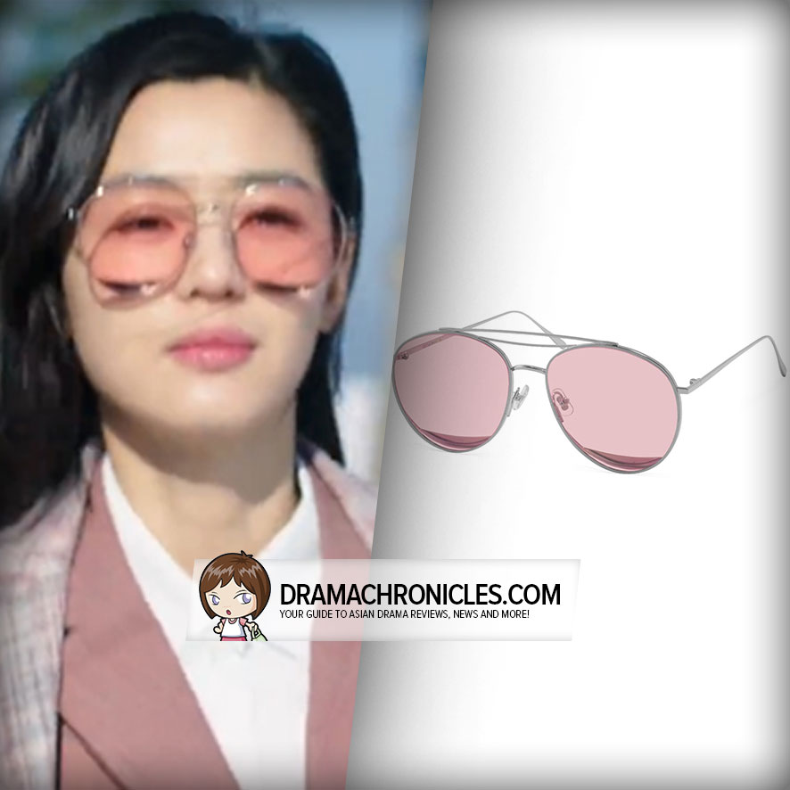 Jun Ji Hyun wearing Gentle Monster's Odd Odd 02.