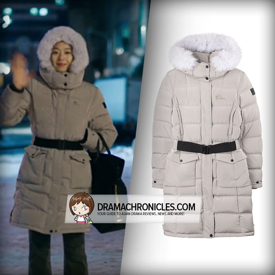 Jun Ji Hyun wearing Nepa's Novus Goose Down Jacket.