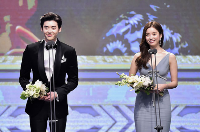 Lee Jong Suk and Han Hyo Joo c/o Newsen