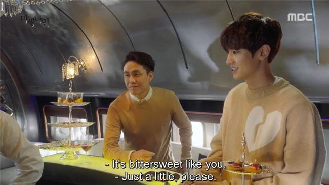"Park Chanyeol in ""Missing Nine"" episode 01 c/o MBC"