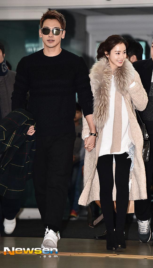 Rain And Kim Tae Hee S Airport Fashion Drama Chronicles