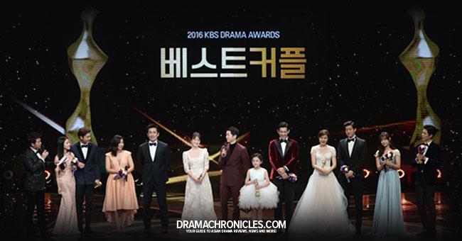 Awards Winner for 2016 KBS Drama Awards c/o Newsen