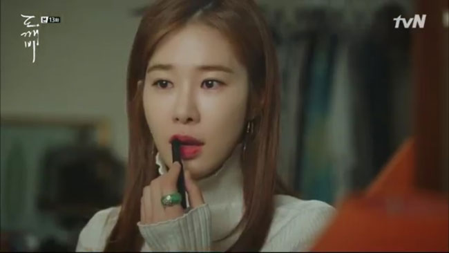 "Yoo In Na in ""Goblin"" episode 13 c/o tvN"