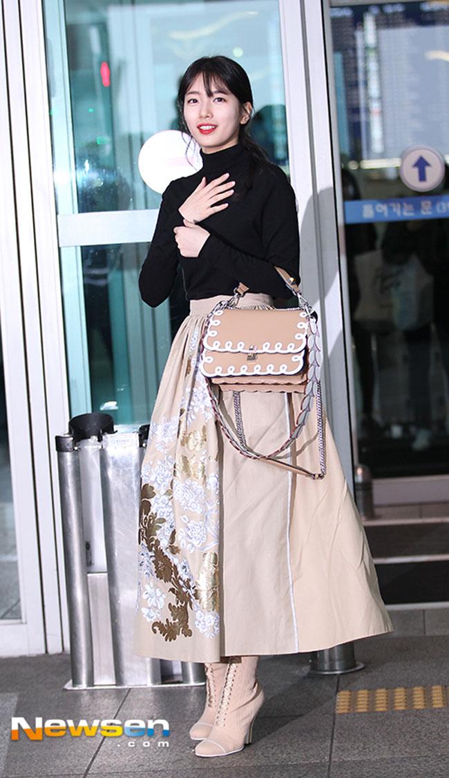 Bae Suzy February Airport Fashion 05 Drama Chronicles Drama