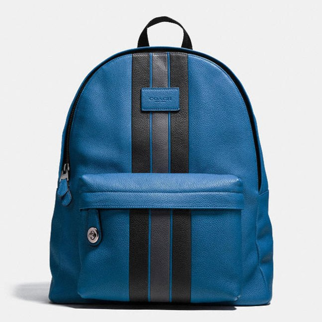 Coach Varsity Striped Backpack