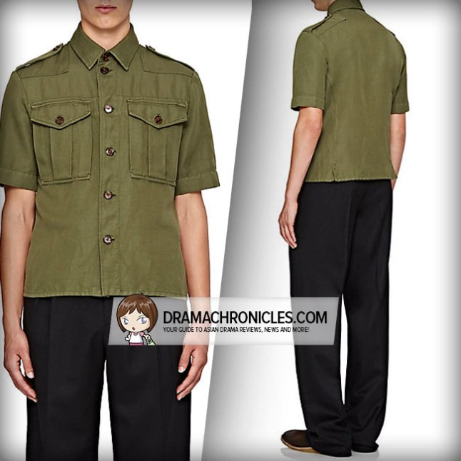 Burberry Military Shirt