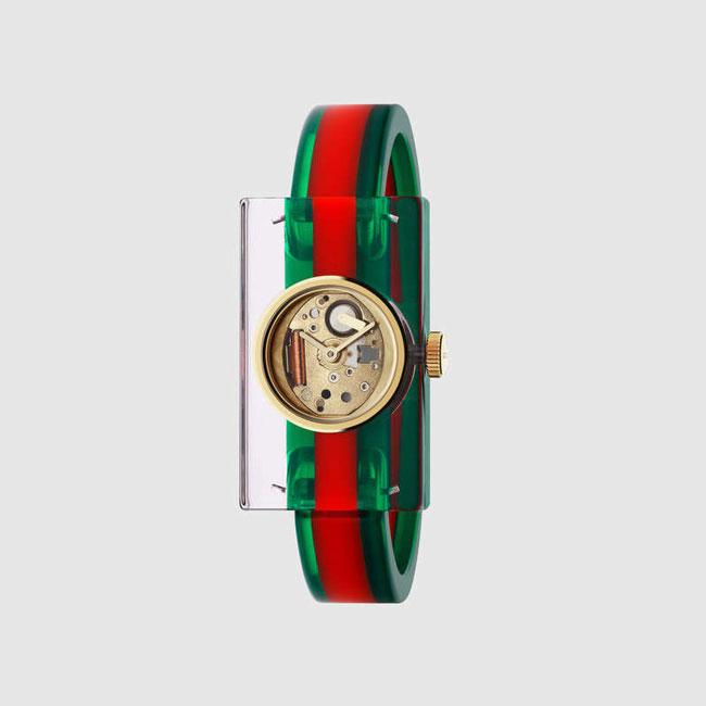 Gucci Plexiglass Watch