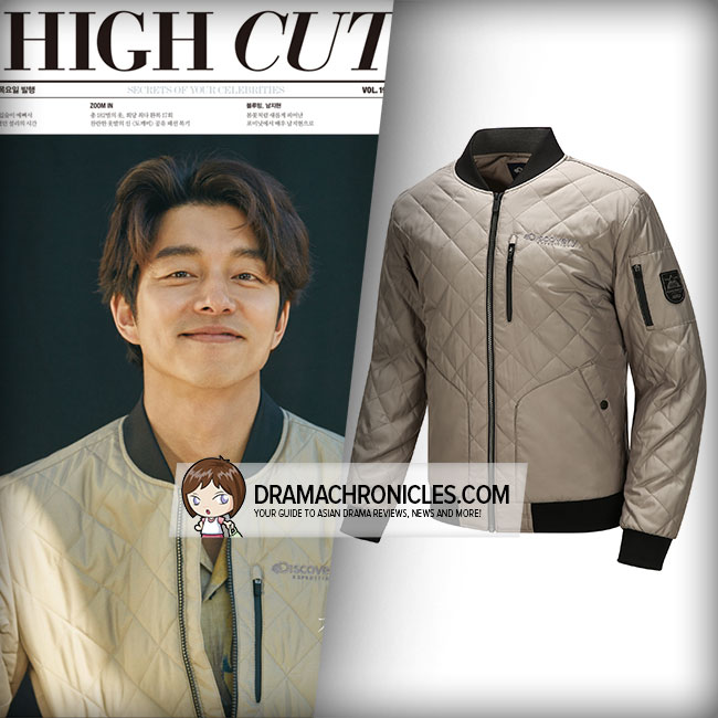 Gong Yoo wearing Discovery Expedition Quilted Padded Jacket.