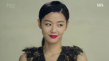 "Jun Ji Hyun in ""The Legend of the Blue Sea"" episode 12 c/o SBS"