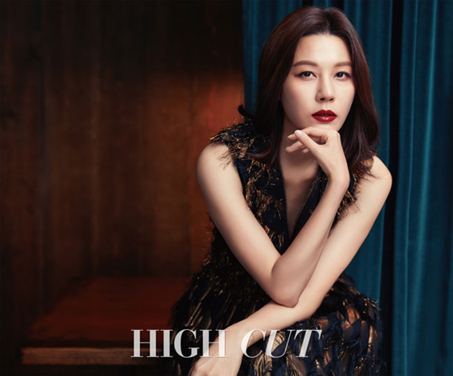 Kim Ha Neul c/o High Cut