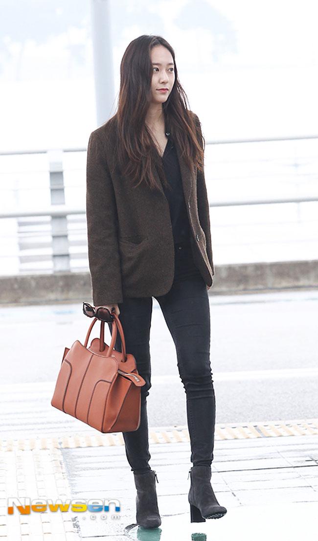 Krystal Jung S Airport Fashion Drama Chronicles