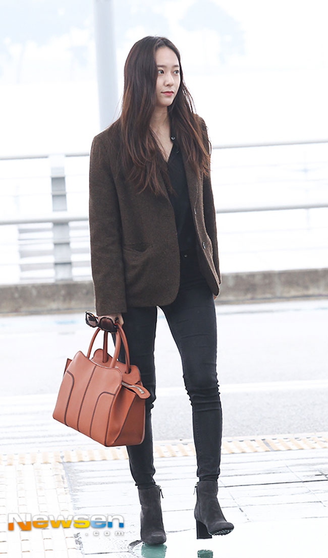 Krystal Jung S Airport Fashion Drama Chronicles