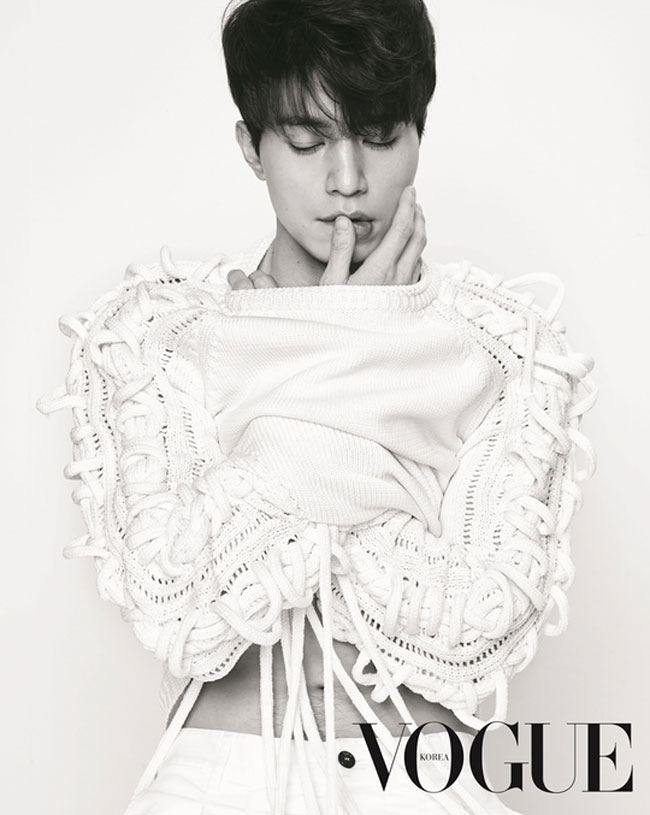 Lee Dong Wook c/o Vogue