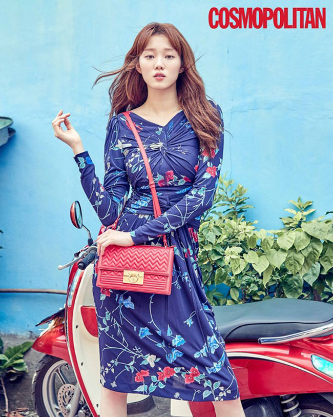 Lee Sung Kyung c/o Cosmopolitan
