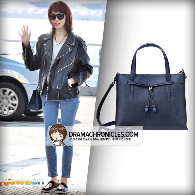 Lee Sung Kyung wearing Lovcat Bonheur Bag.