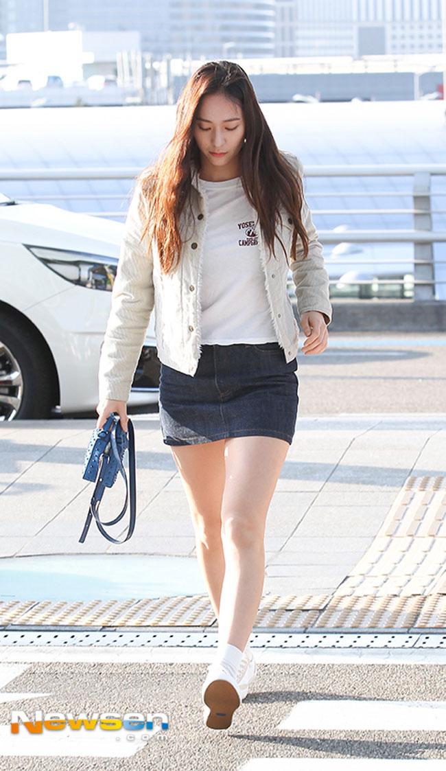 Lee Je Hoon Krystal Jung And Bts V S Airport Fashion