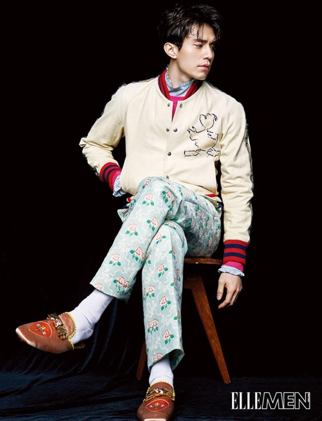 Lee Dong Wook c/o Elle Men HK