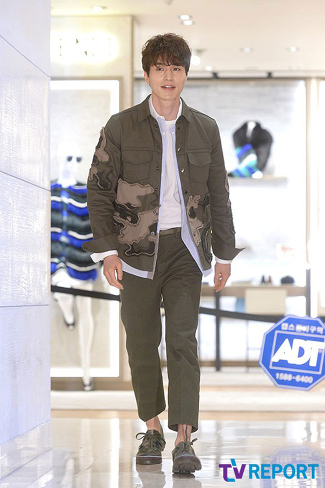 Lee Dong Wook c/o TV Report