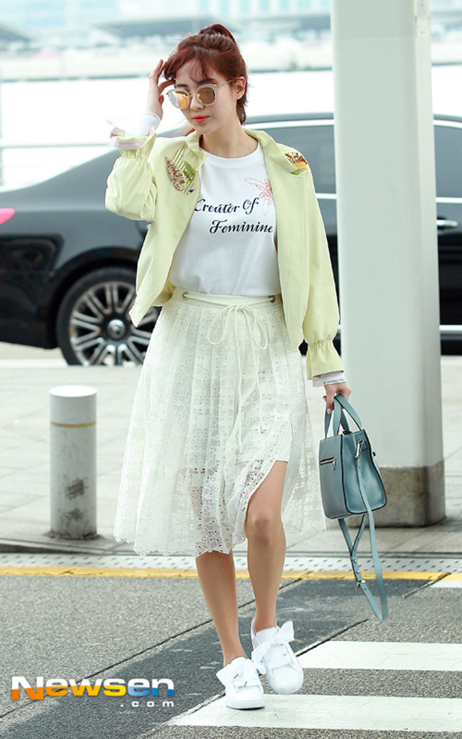 SNSD Seohyun's Airport Fashion – Drama Chronicles