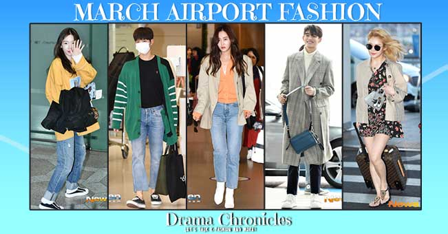 NCT-Lucas,-Hyeoyeon,-Park-Bo-Gum,-Taeyeon,-Yuri-Airport-Fashion-March-2019-Feat-Image-Drama-Chronicles